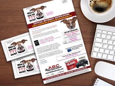 Old Dog Buyback Mailer