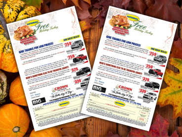 Crown Turkey Mailer